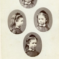 Mary CLAUDET enfant Fille dAntoine CLAUDET